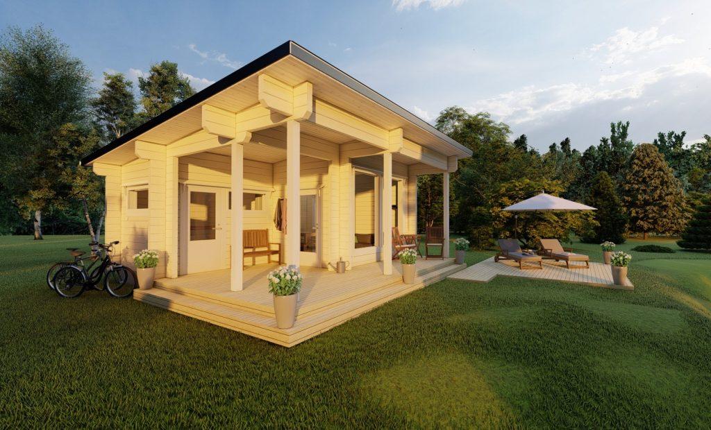 Self build garden rooms